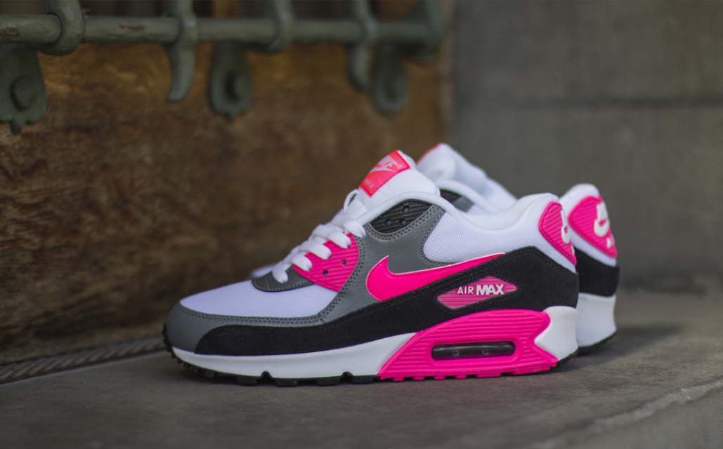nike air max 90 grey white pink. Black Bedroom Furniture Sets. Home Design Ideas